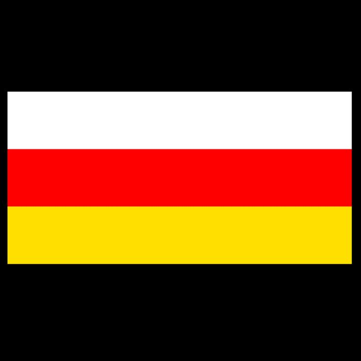 South Ossetia Flag - My Evil Twin