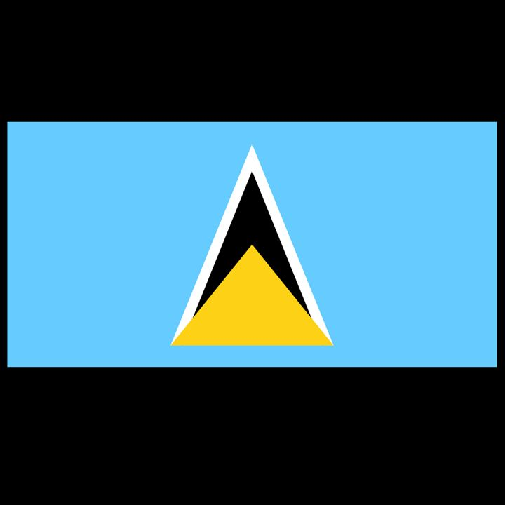St. Lucia Flag - My Evil Twin