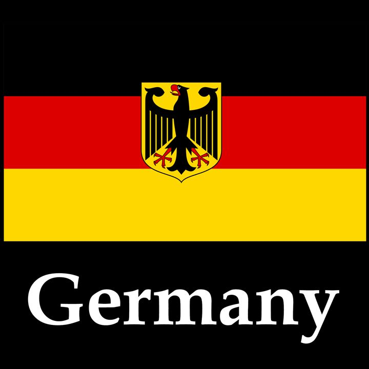 Germany Flag #3 And Name - My Evil Twin