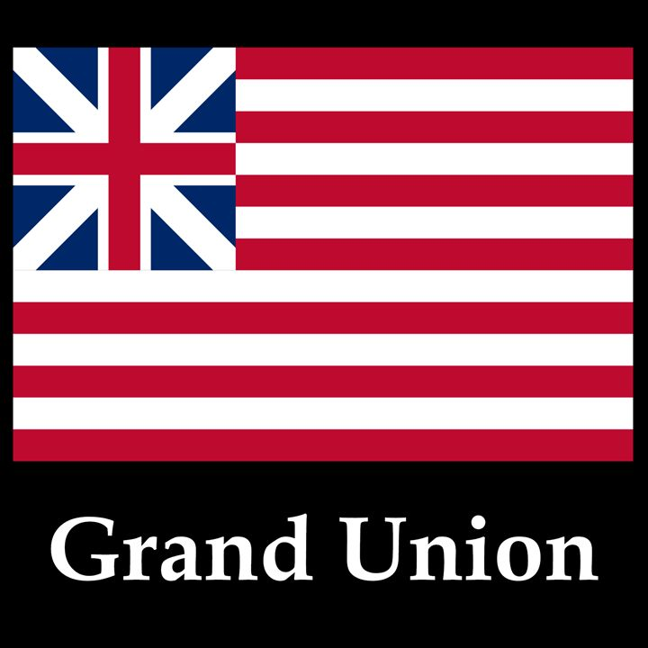 Grand Union Flag And Name - My Evil Twin