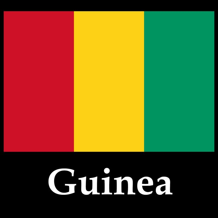 Guinea Flag And Name - My Evil Twin
