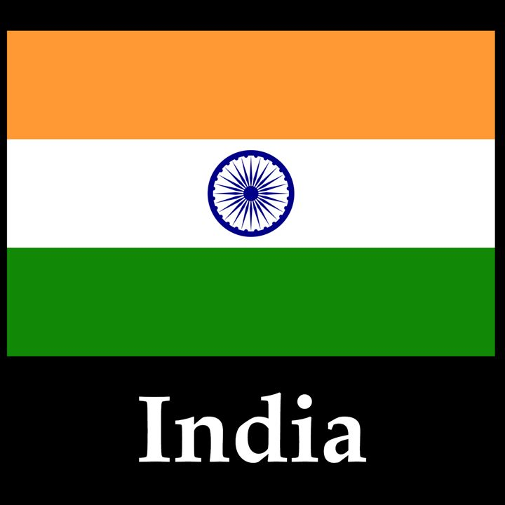 India Flag And Name - My Evil Twin