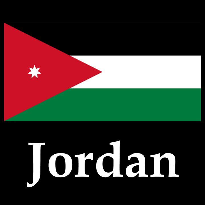 Jordan Flag And Name - My Evil Twin