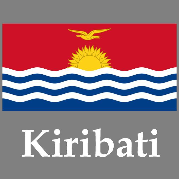 Kiribati Flag And Name - My Evil Twin