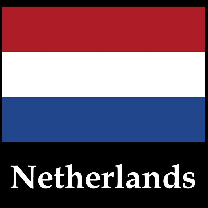 Netherlands Flag And Name - My Evil Twin