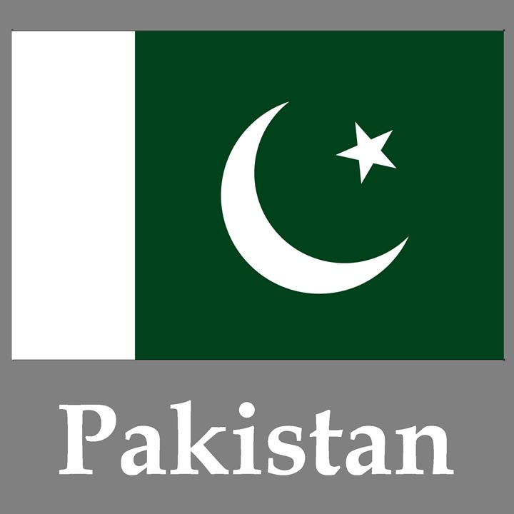 Pakistan Flag And Name - My Evil Twin