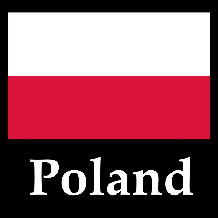 Poland Flag And Name - My Evil Twin