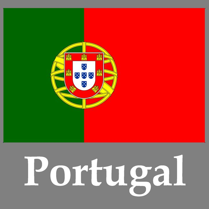 Portugal Flag And Name - My Evil Twin