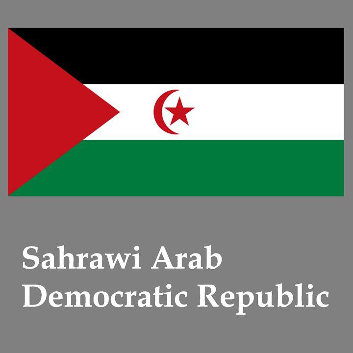 Sahrawi Arab Democratic Republic Fla - My Evil Twin