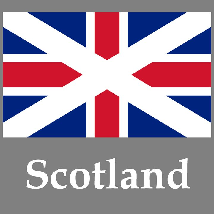 Union Flag Of Scotland - My Evil Twin