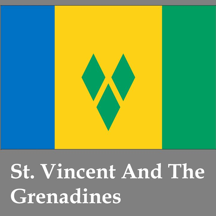 St. Vincent And The Grenadines Flag - My Evil Twin
