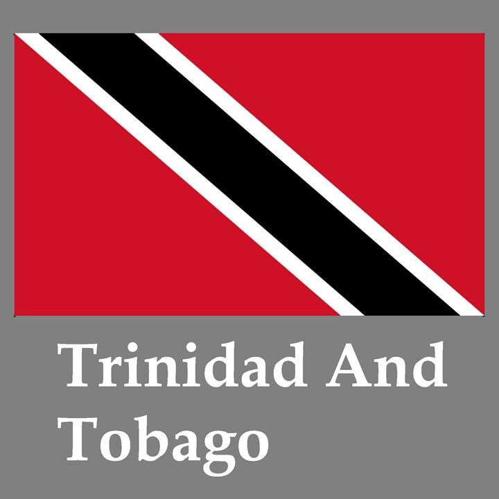 Trinidad And Tobago Flag And Name - My Evil Twin