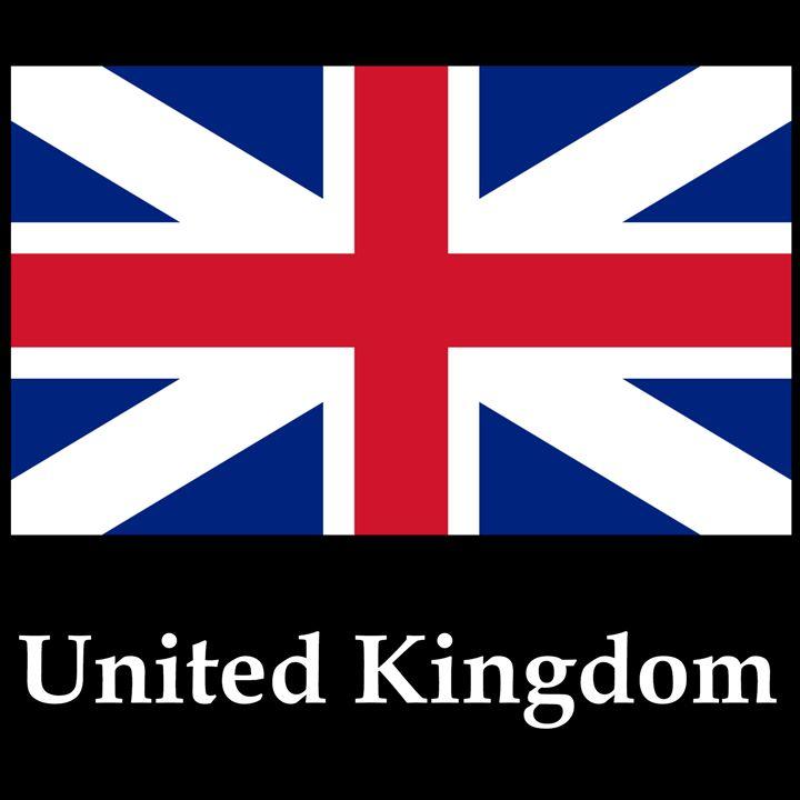 United Kingdom King's Colors Flag - My Evil Twin