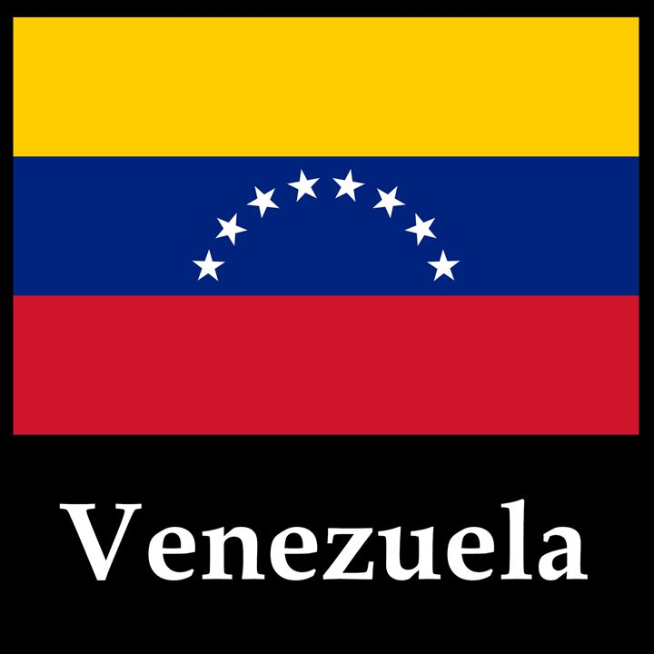 Venezuela Flag And Name - My Evil Twin