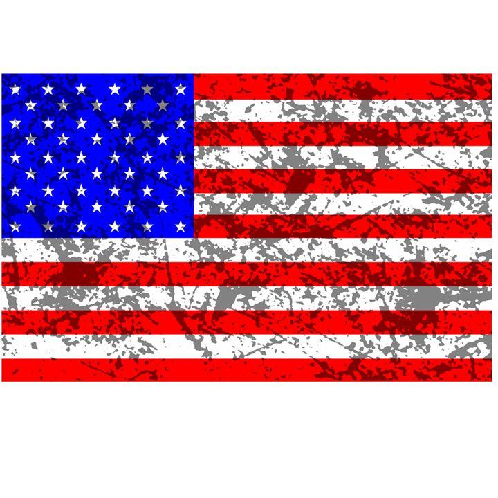 American Grunge Flag - My Evil Twin