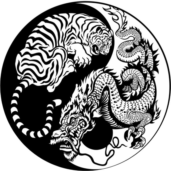 Dragon Yin/Yang - My Evil Twin