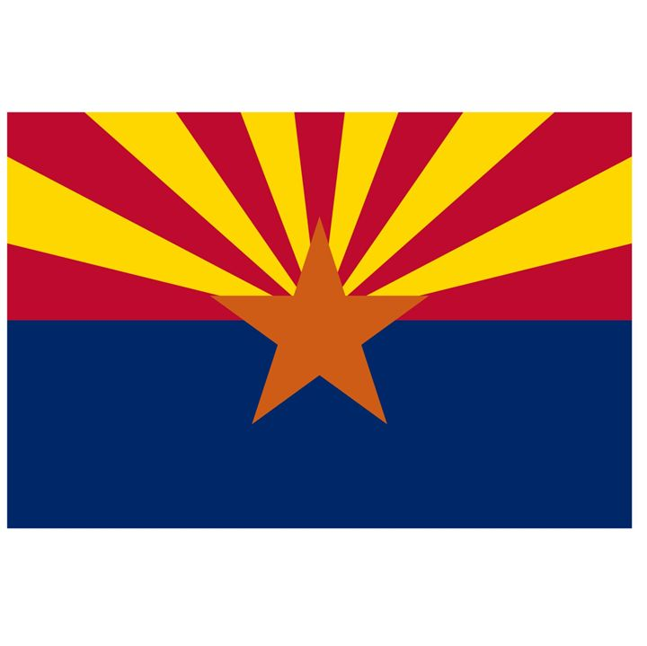 Arizona Flag - My Evil Twin