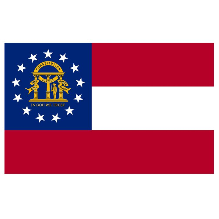 Georgia Flag - My Evil Twin