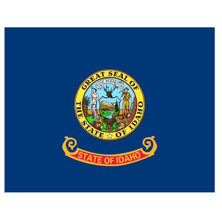 Idaho Flag - My Evil Twin