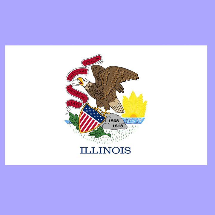 Illinois Flag - My Evil Twin