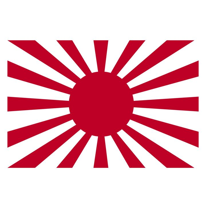 Japan Rising Sun Flag - My Evil Twin