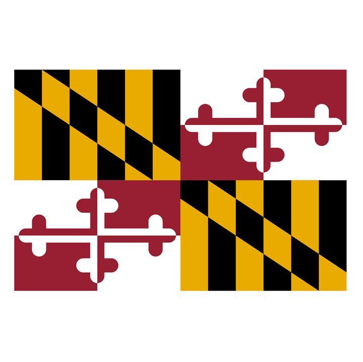 Maryland Flag - My Evil Twin