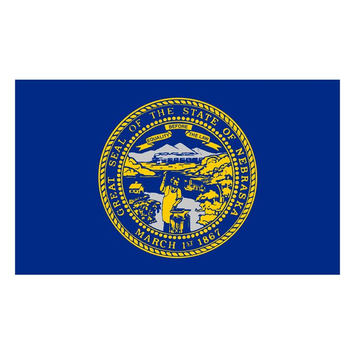 Nebraska Flag - My Evil Twin