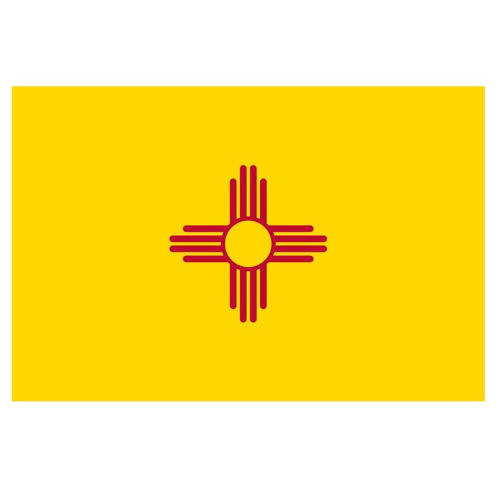 New Mexico Flag - My Evil Twin