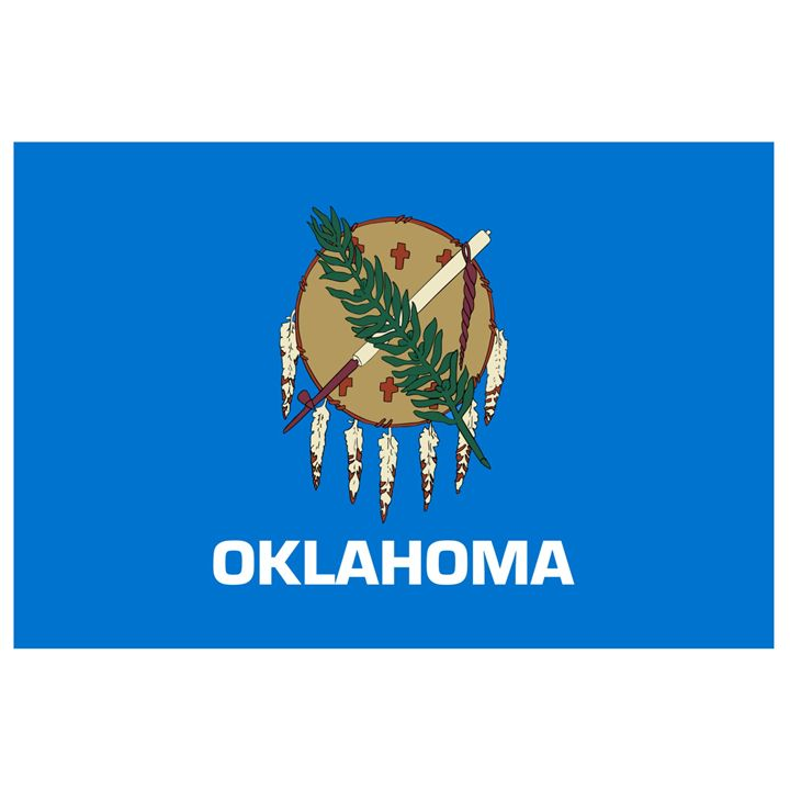 Oklahoma Flag - My Evil Twin