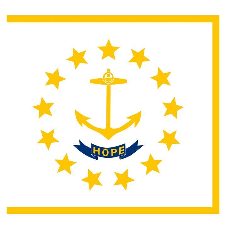 Rhode Island Flag - My Evil Twin
