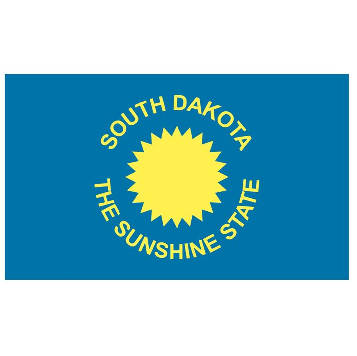 South Dakota Flag - My Evil Twin