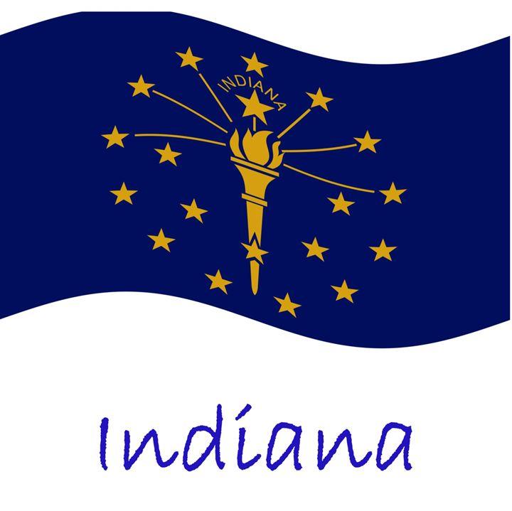 Indiana Flag - My Evil Twin