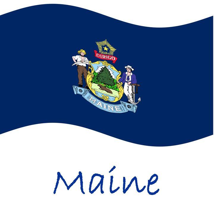 Maine Flag - My Evil Twin