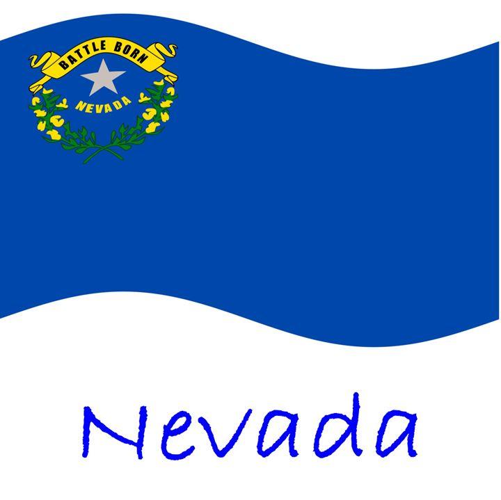 Nevada Flag - My Evil Twin