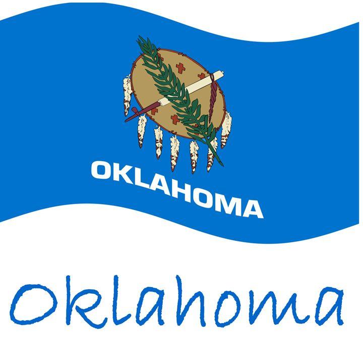 Oklahoma Flag - My Evil Twin