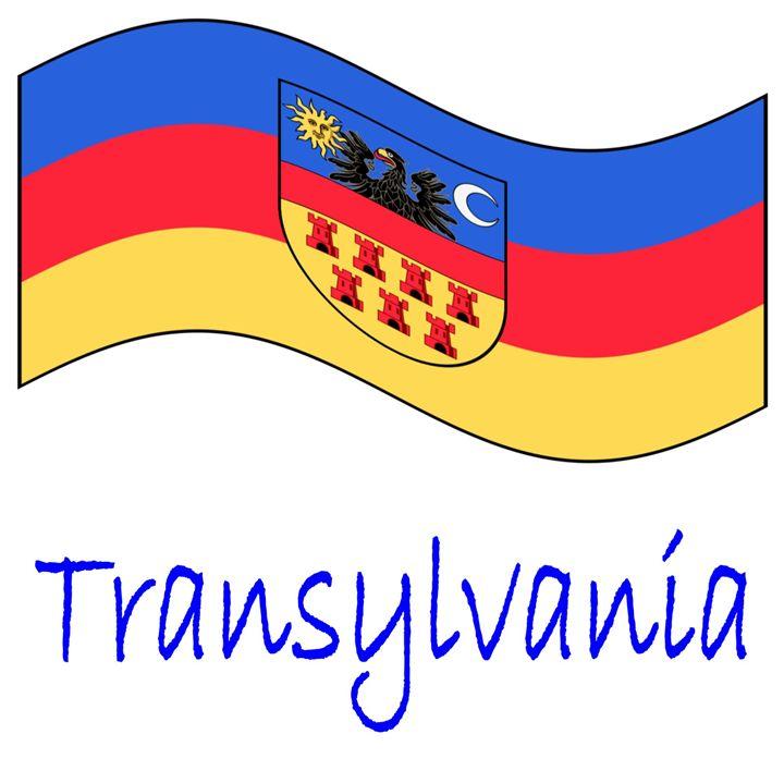 Transylvania Historical Flag #2 - My Evil Twin