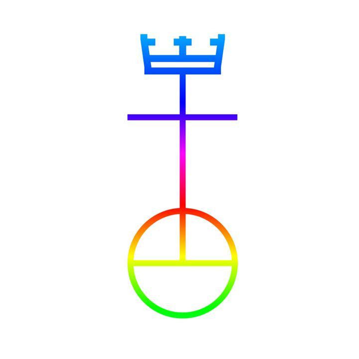 Rainbow Church Of Christ Symbol - My Evil Twin