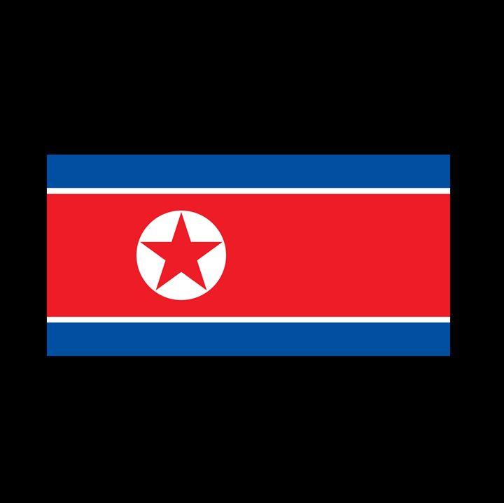 North Korea Flag - My Evil Twin