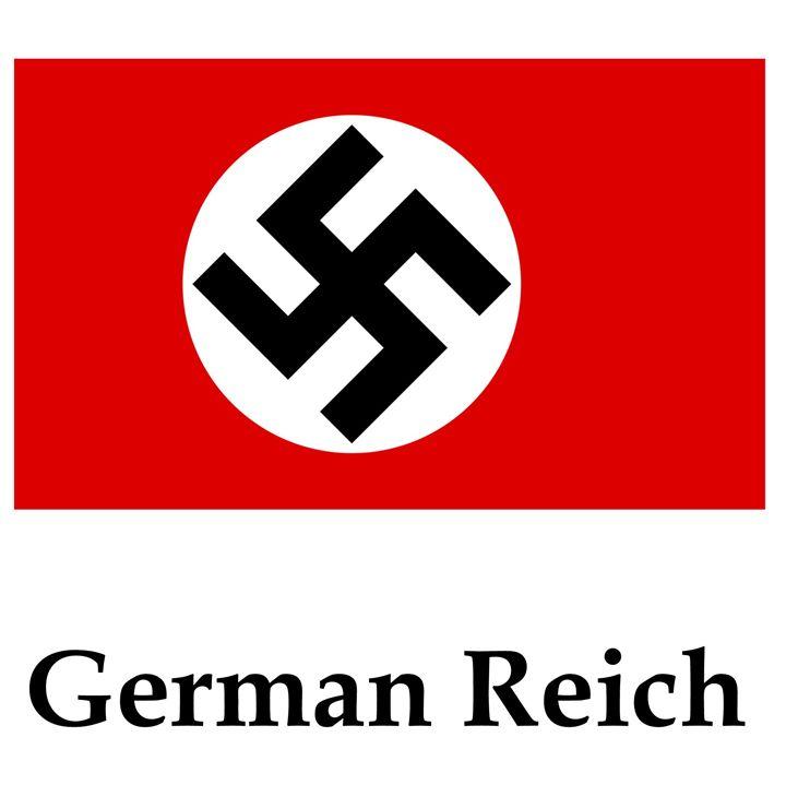 German Reich Flag - My Evil Twin