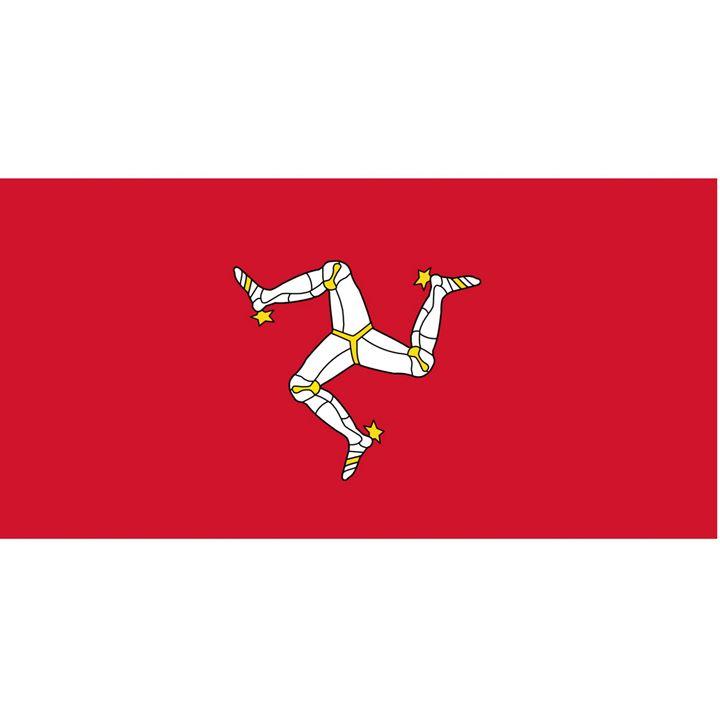Isle Of Man Flag - My Evil Twin