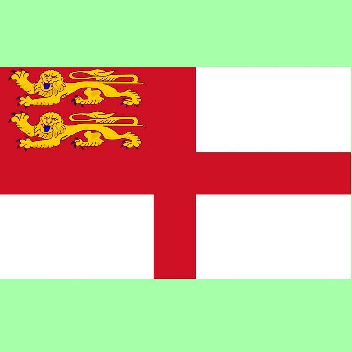 Sark Flag - My Evil Twin