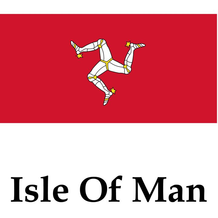 Isle Of Man Flag - My Evil Twin
