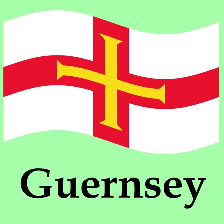 Guernsey Flag - My Evil Twin