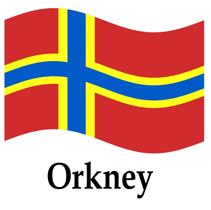 Orkney Flag - My Evil Twin