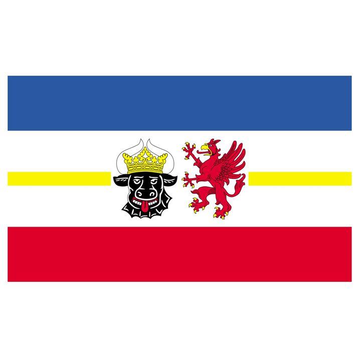 Mecklenburg-Western Pomerania Flag - My Evil Twin