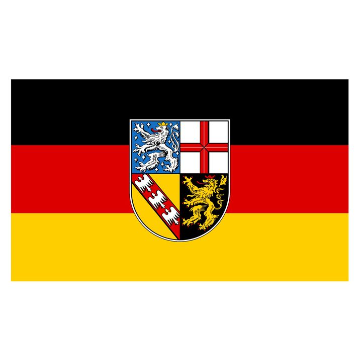 Saarland Flag - My Evil Twin