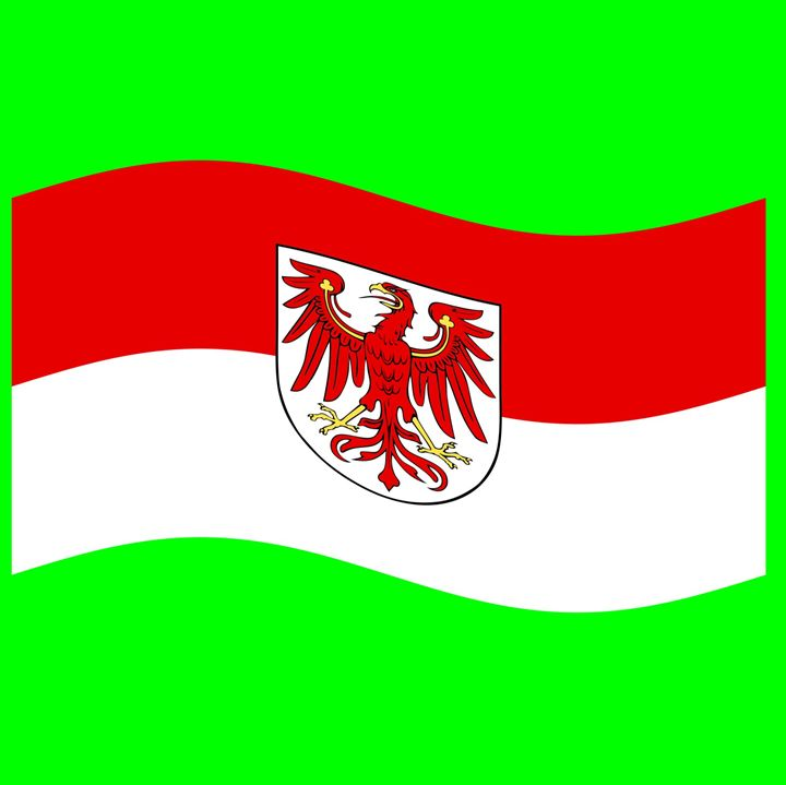 Brandenburg Flag - My Evil Twin