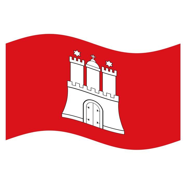 Hamburg Flag - My Evil Twin