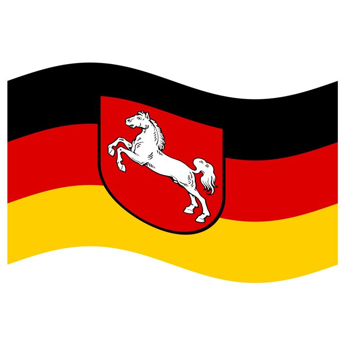 Lower Saxony Flag - My Evil Twin