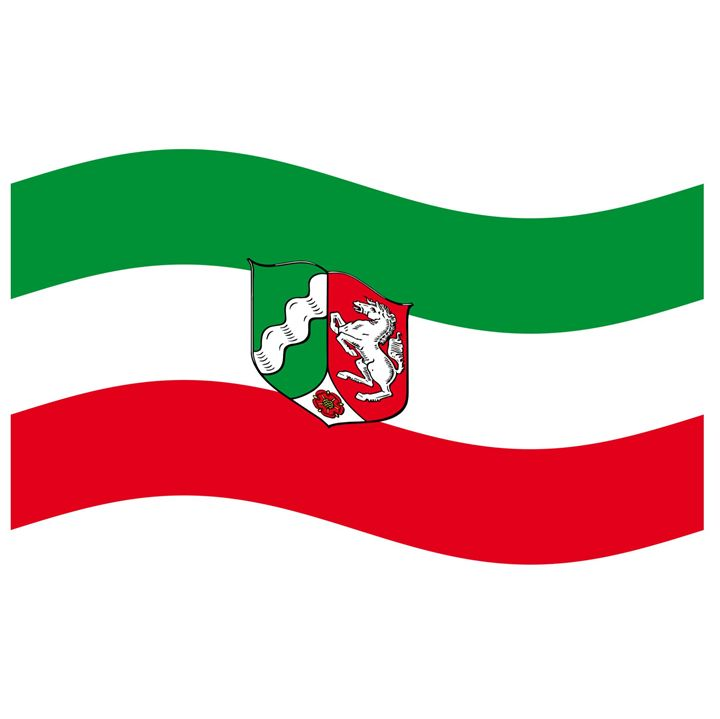 North Rhine-Westphalia Flag - My Evil Twin